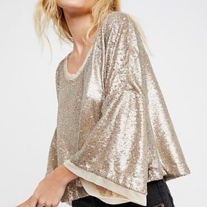 Free People Champagne Dreams Tee-